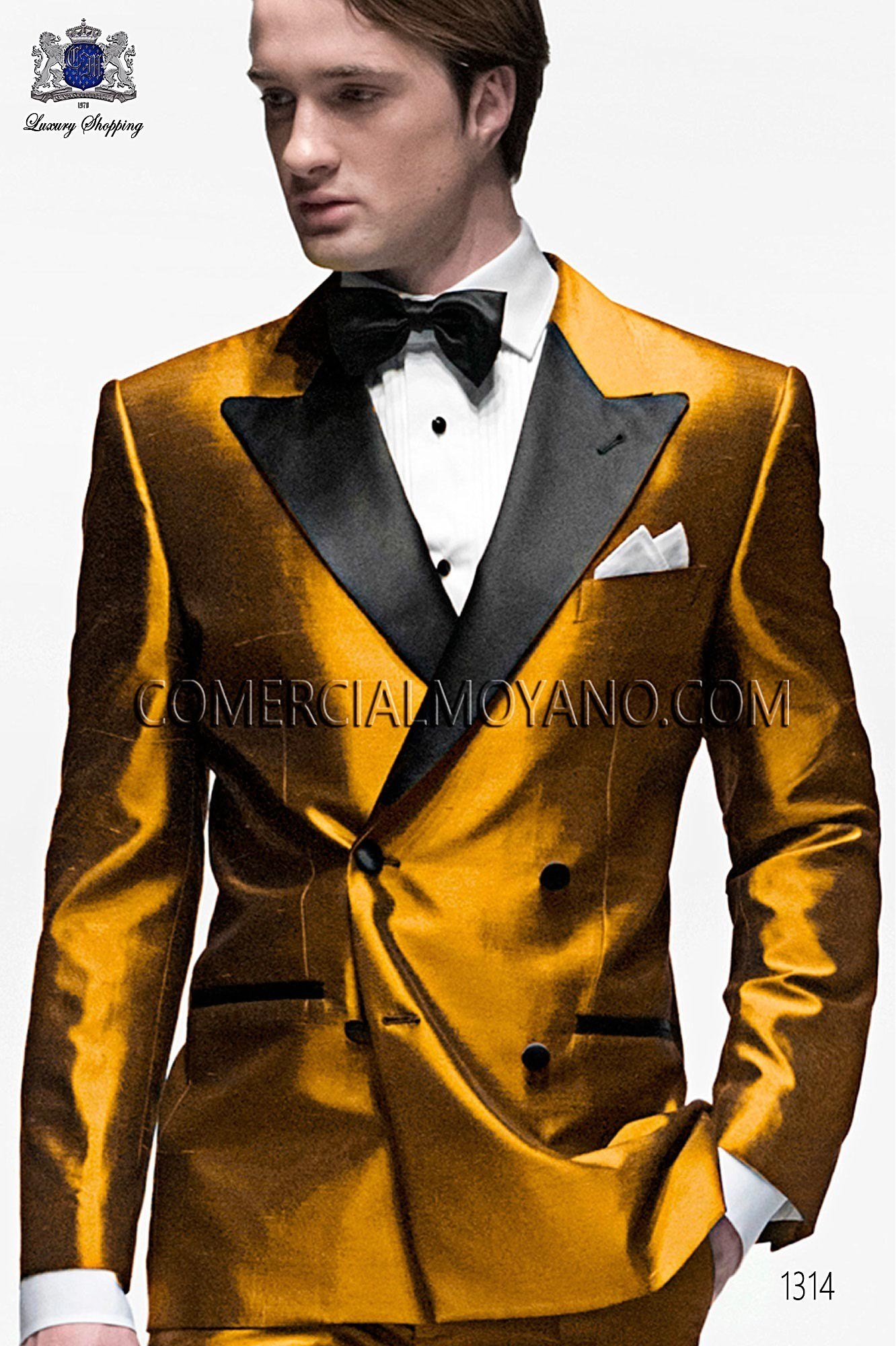 Black Tie Gold men wedding suit, model: 1314 Ottavio Nuccio Gala ...