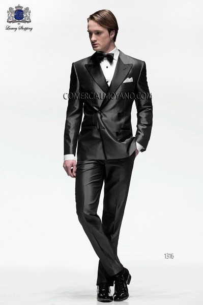 Italian blacktie gray men wedding suit style 1316 Ottavio Nuccio Gala