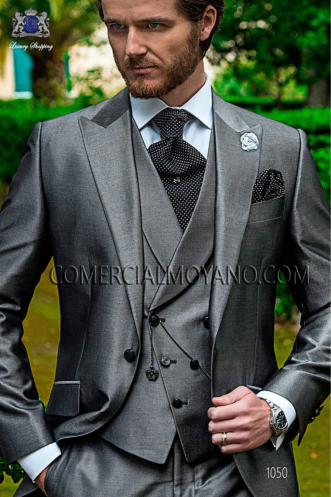 Traje Fashion de novio gris modelo: 1050 Ottavio Nuccio Gala colección Fashion