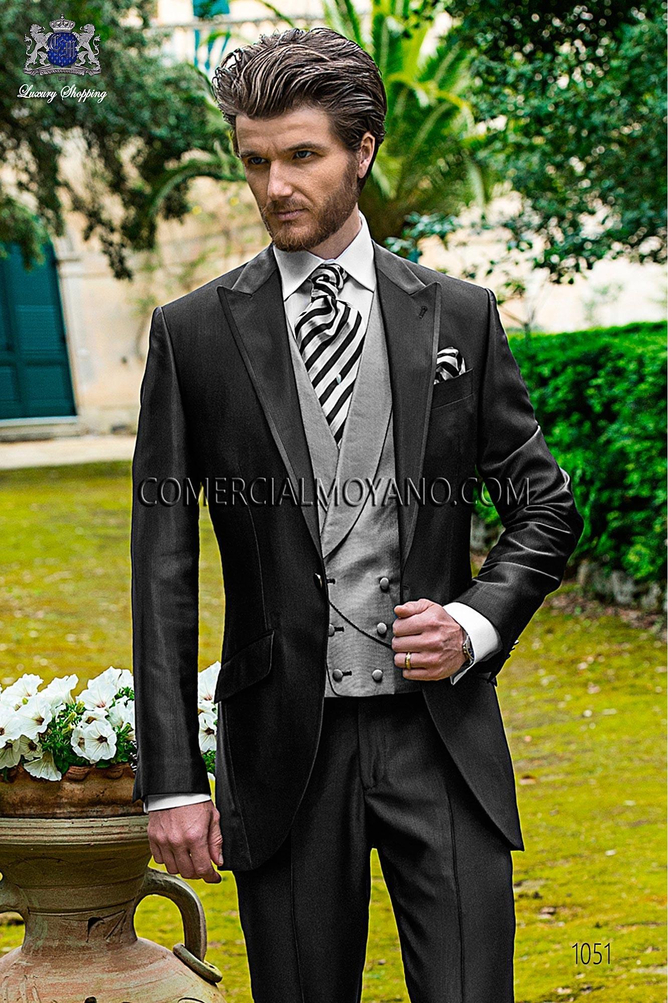 Traje Fashion de novio negro modelo: 1051 Ottavio Nuccio Gala colección Fashion