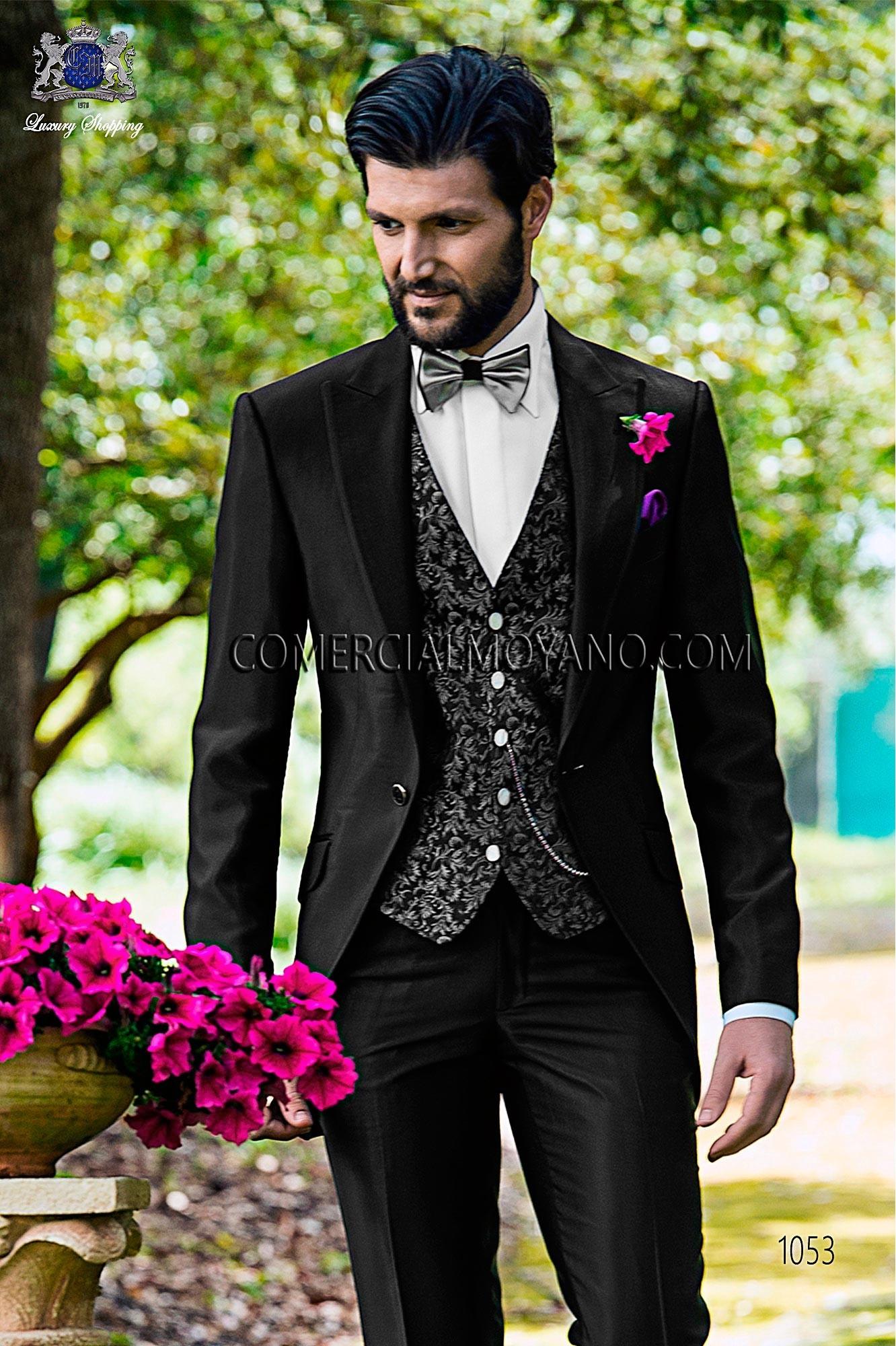 Traje Fashion de novio negro modelo: 1053 Ottavio Nuccio Gala colección Fashion