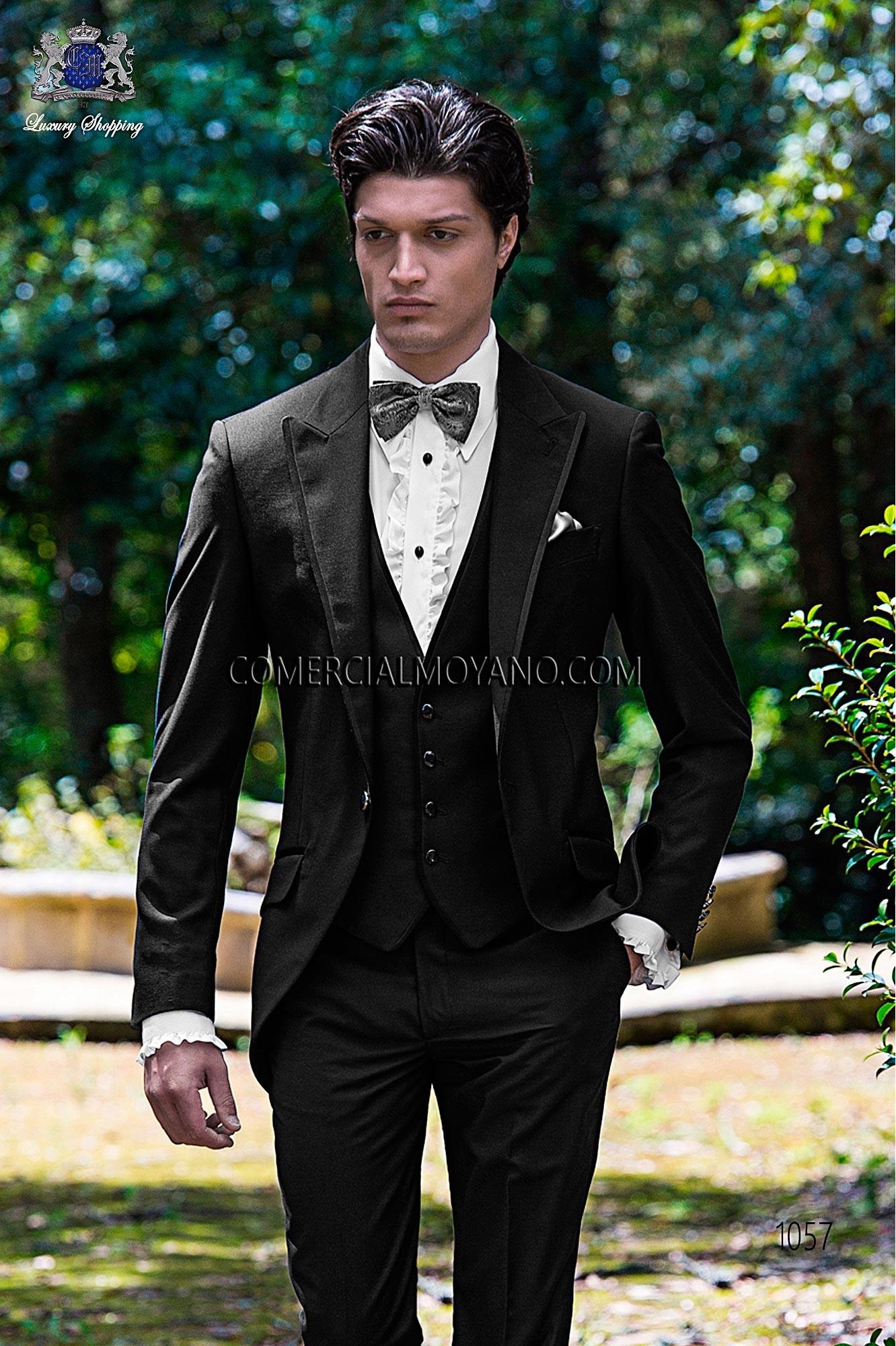 Traje Fashion de novio negro modelo: 1057 Ottavio Nuccio Gala colección Fashion