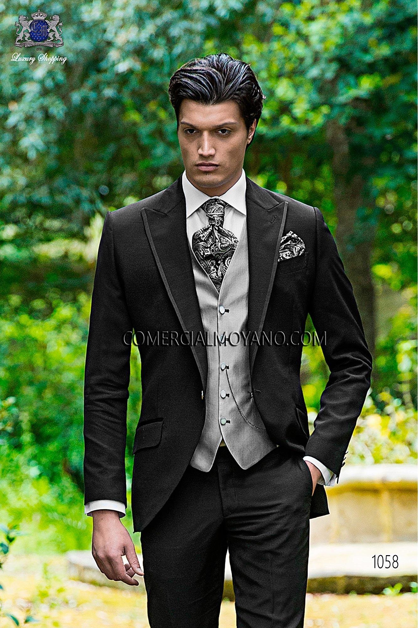 Traje Fashion de novio negro modelo: 1058 Ottavio Nuccio Gala colección Fashion