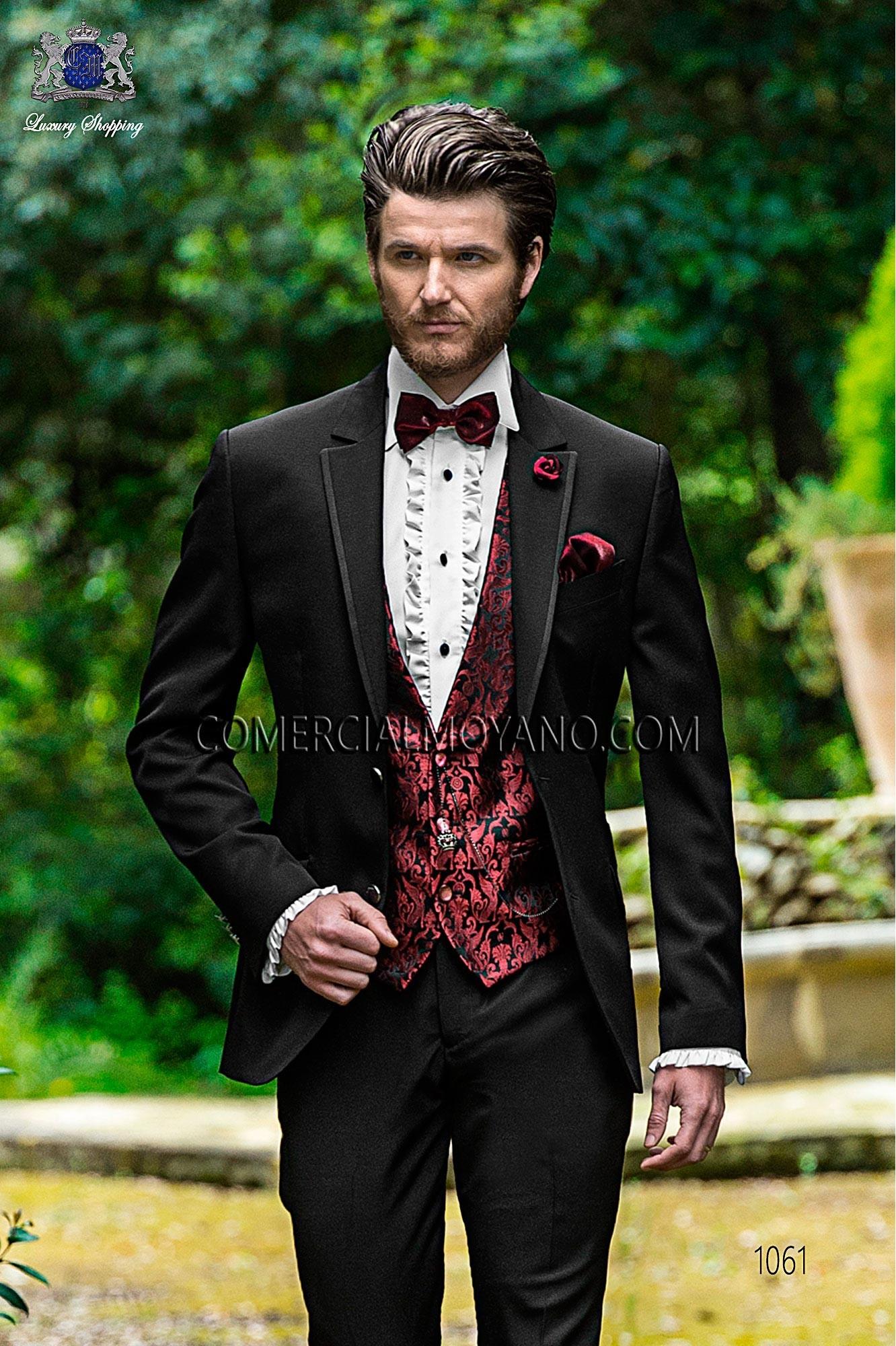 Traje Fashion de novio negro modelo: 1061 Ottavio Nuccio Gala colección Fashion