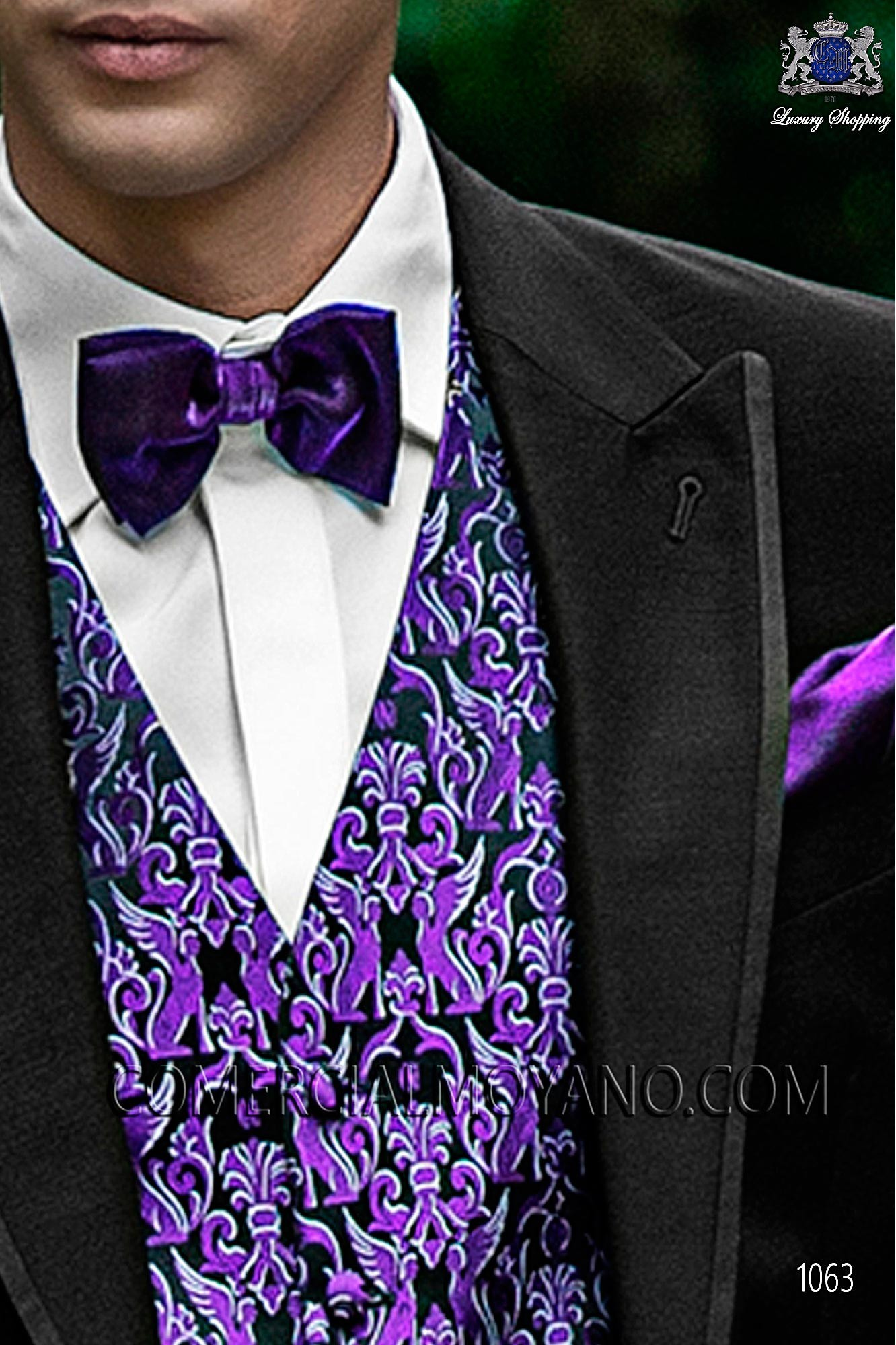 Fashion black men wedding suit, model: 1063 Ottavio Nuccio Gala ...