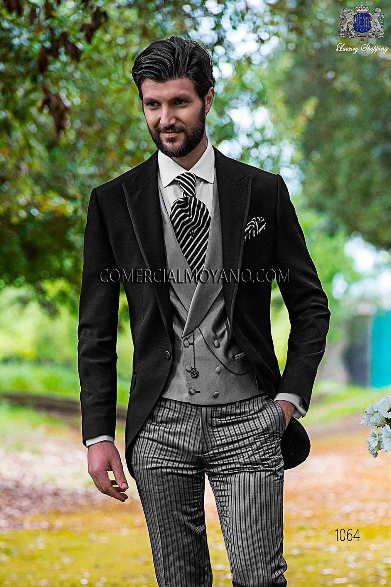 Traje Fashion de novio negro modelo: 1064 Ottavio Nuccio Gala colección Fashion