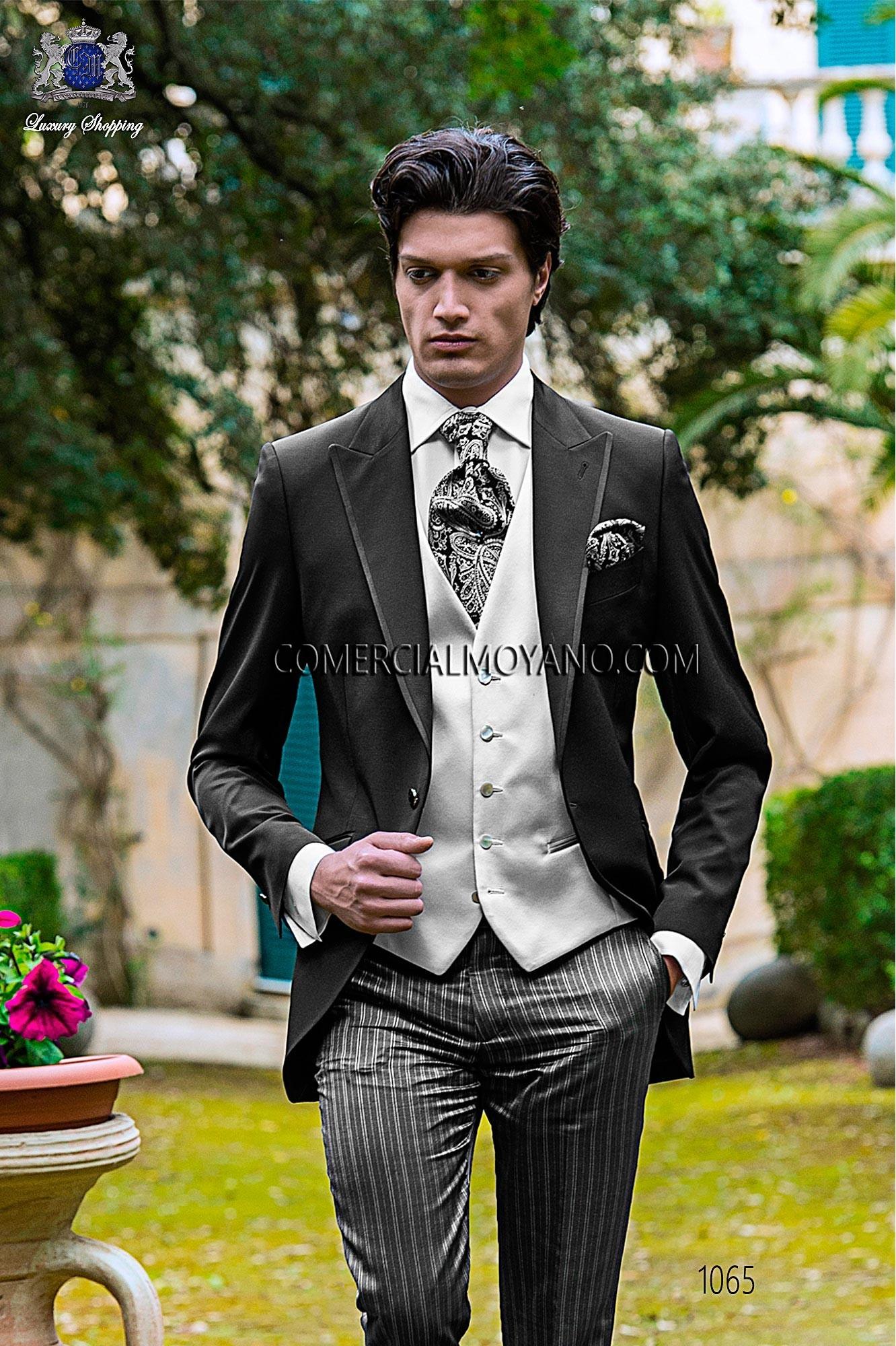 Traje Fashion de novio negro modelo: 1065 Ottavio Nuccio Gala colección Fashion