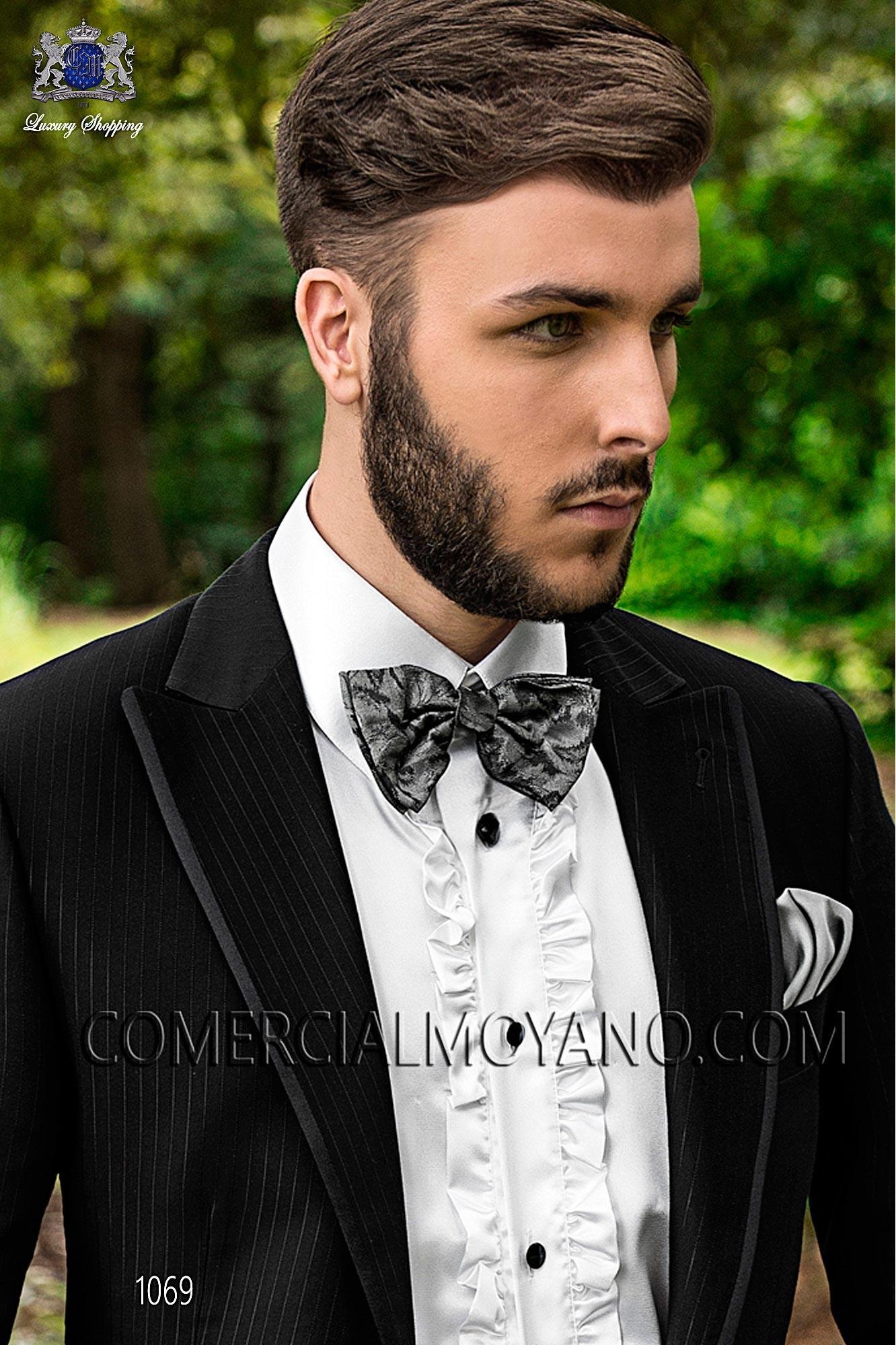 Italian fashion black men wedding suit, model: 1069 Ottavio Nuccio Gala Fashion Collection