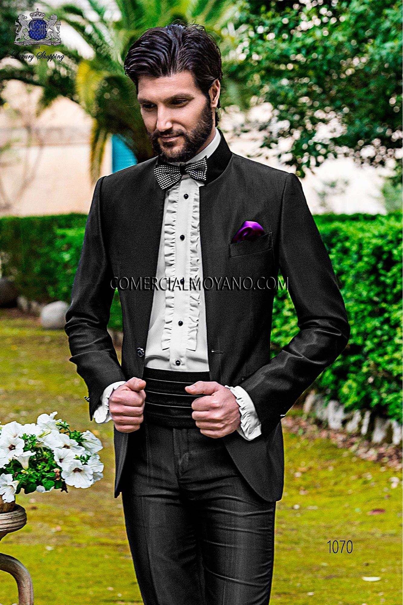Traje Fashion de novio negro modelo: 1070 Ottavio Nuccio Gala colección Fashion