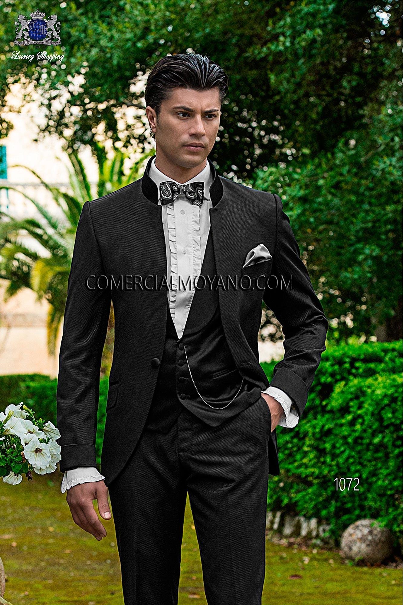 Traje Fashion de novio negro modelo: 1072 Ottavio Nuccio Gala colección Fashion