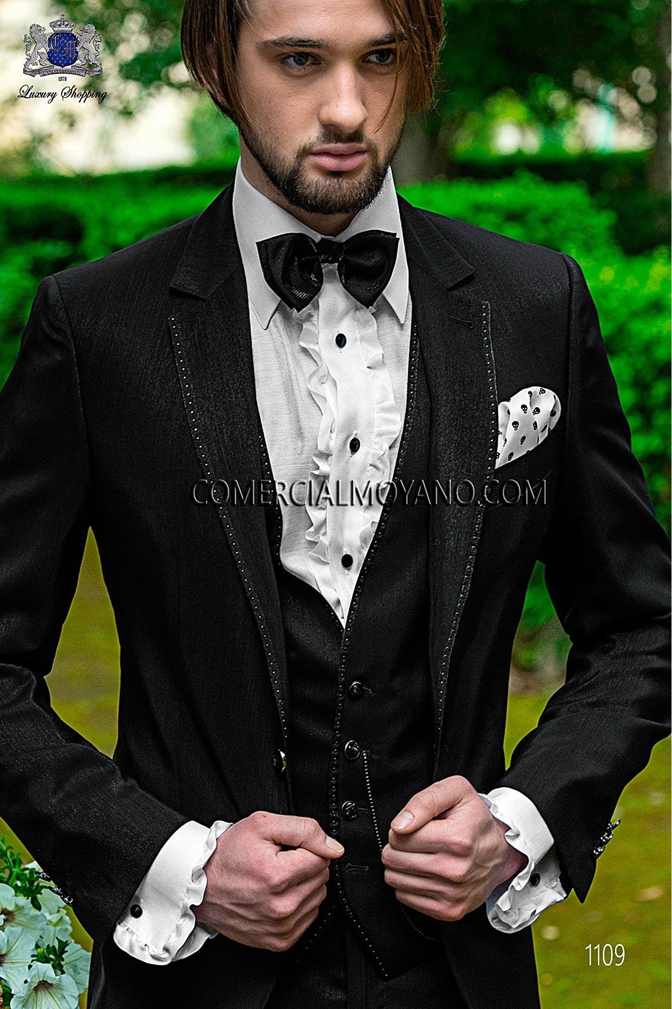 Traje Fashion de novio negro modelo: 1109 Ottavio Nuccio Gala colección Fashion