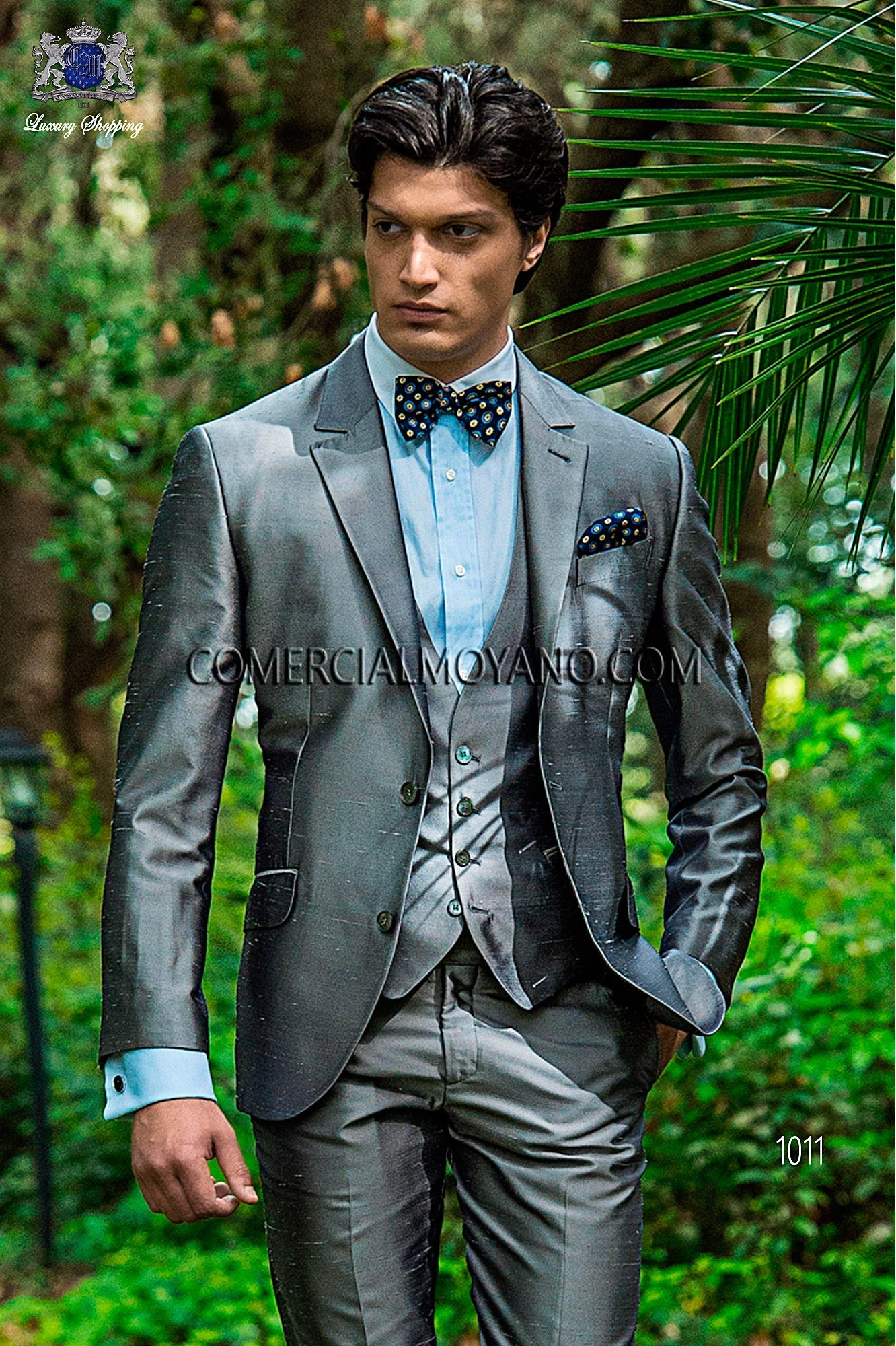 Traje Hipster de novio gris modelo: 1011 Ottavio Nuccio Gala colección Hipster