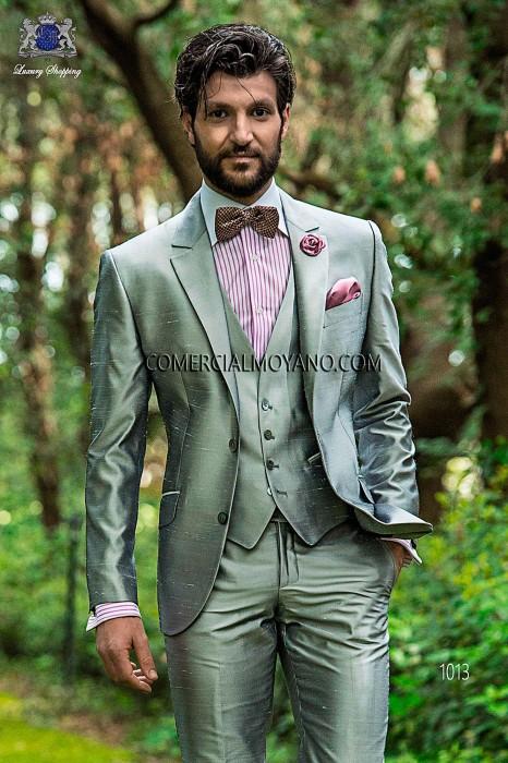 Traje Hipster de novio gris modelo: 1013 Ottavio Nuccio Gala colección Hipster