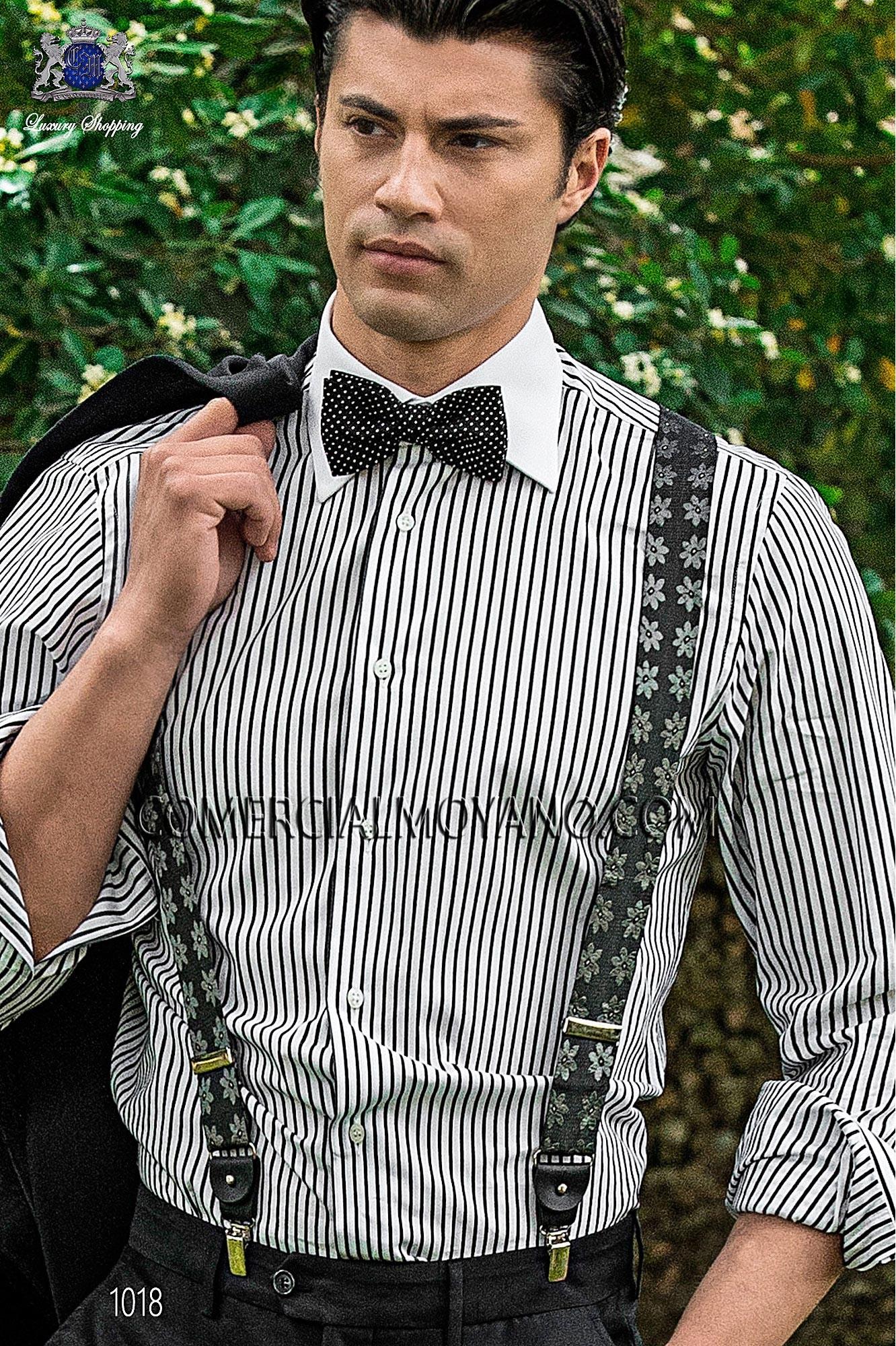 Italian hipster black men wedding suit, model: 1018 Ottavio Nuccio Gala Hipster Collection