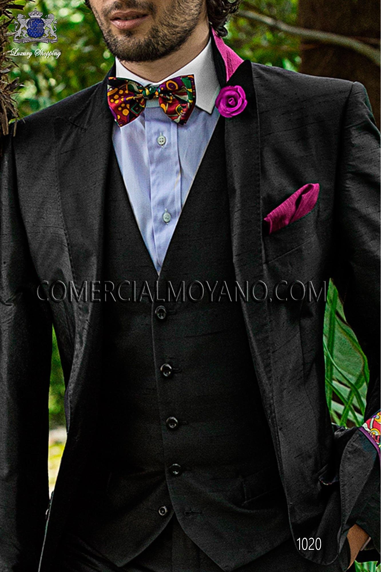 Italian hipster black men wedding suit, model: 1020 Ottavio Nuccio Gala Hipster Collection