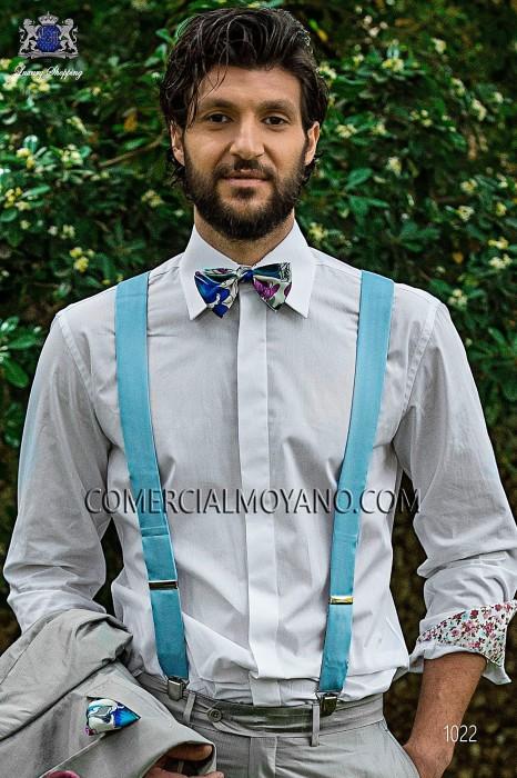 Traje Hipster de novio gris modelo: 1022 Ottavio Nuccio Gala colección Hipster