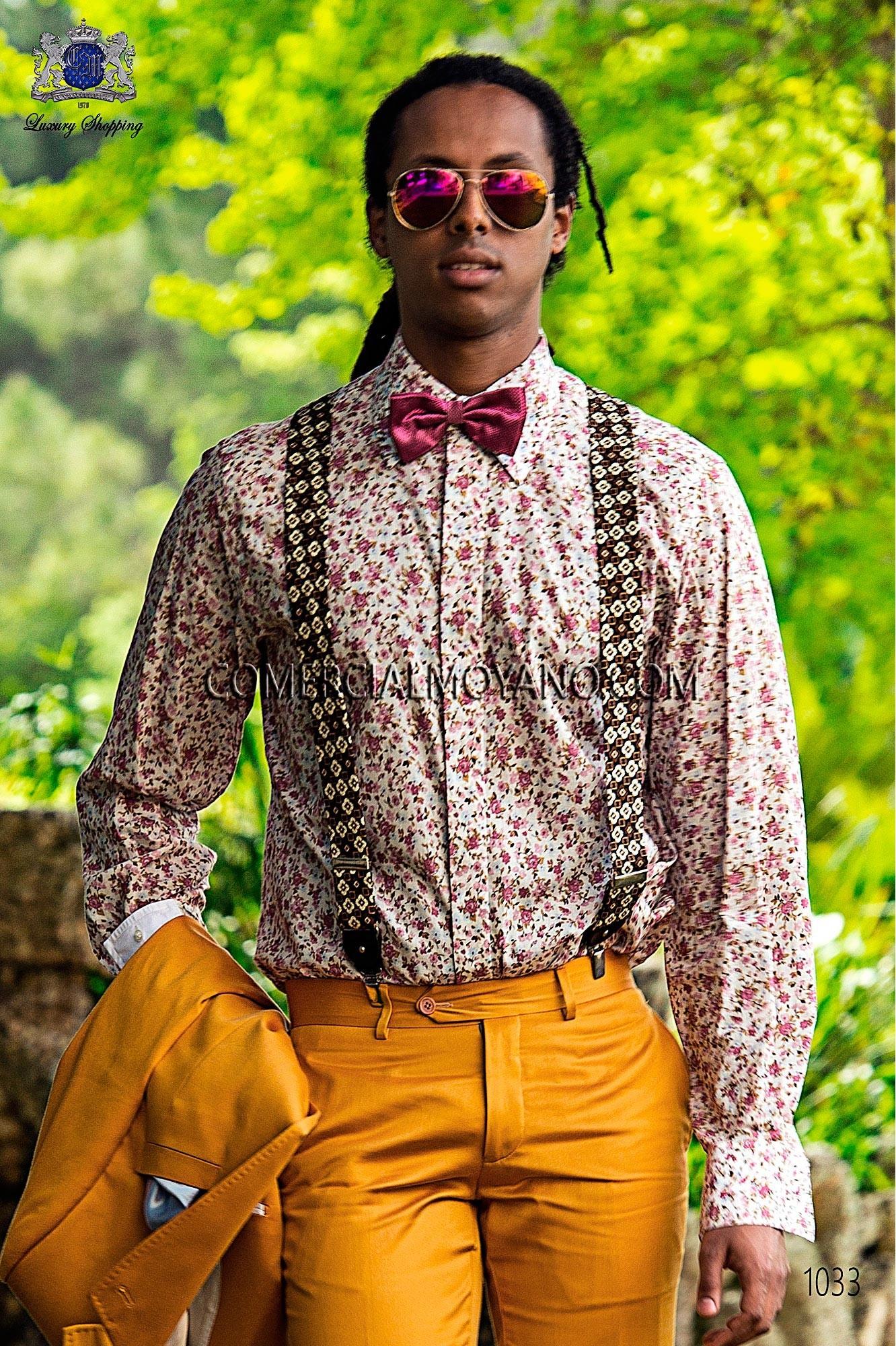 Traje Hipster de novio dorado modelo: 1033 Ottavio Nuccio Gala colección Hipster