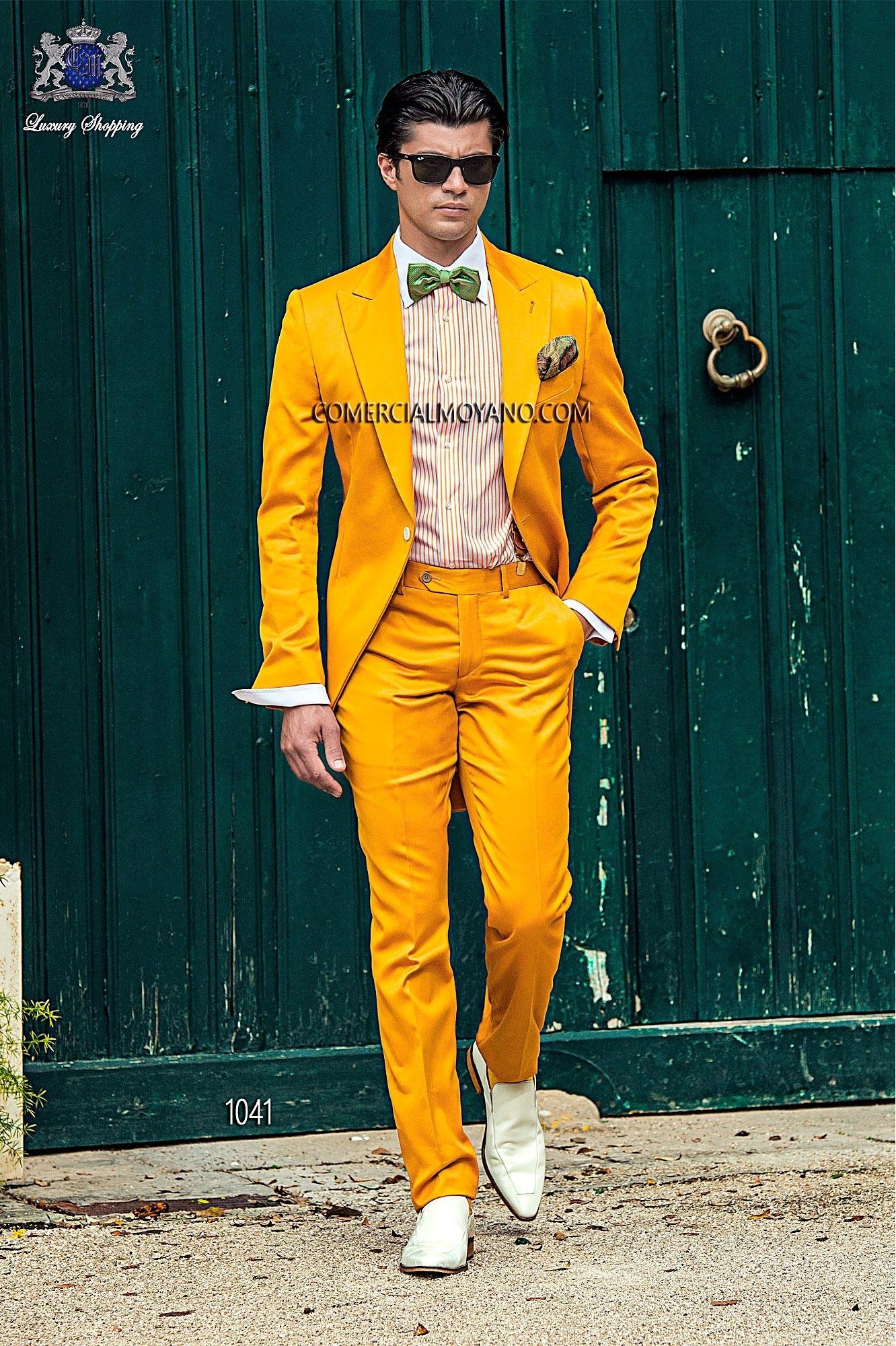 Hipster gold men wedding suit model 1041 Ottavio Nuccio Gala