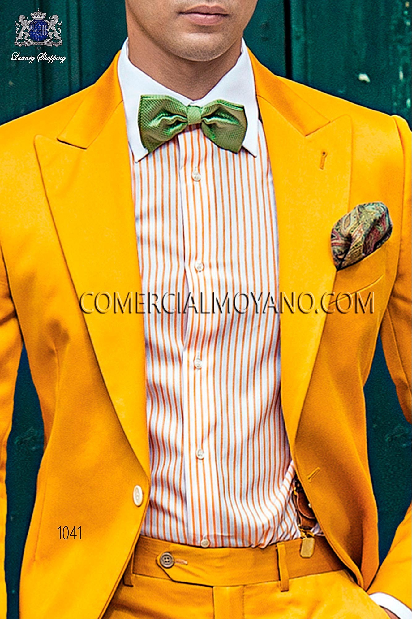 Italian hipster gold men wedding suit, model: 1041 Ottavio Nuccio Gala 2017 Hipster Collection