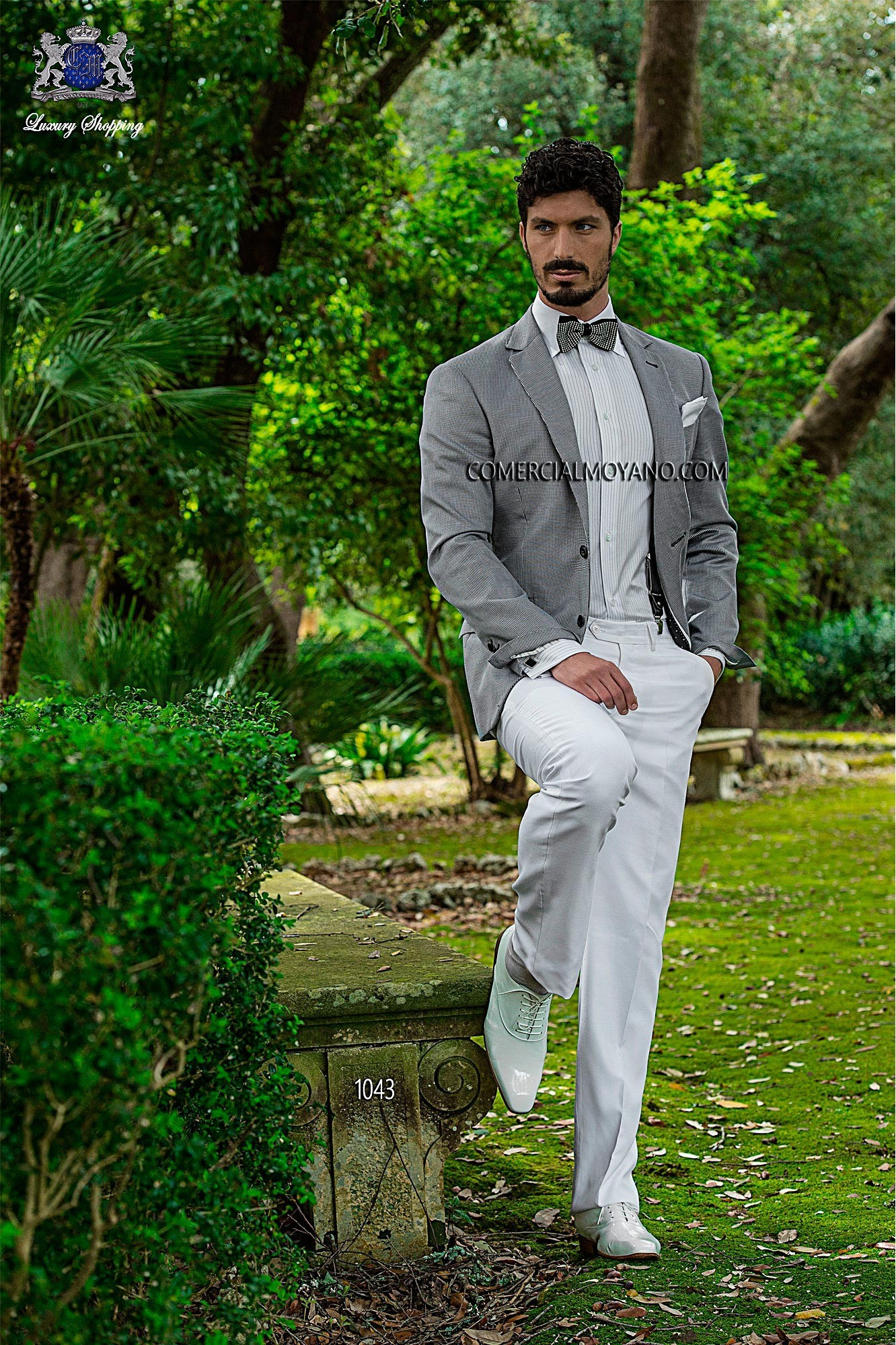 Hipster black men wedding suit model 1043 Ottavio Nuccio Gala