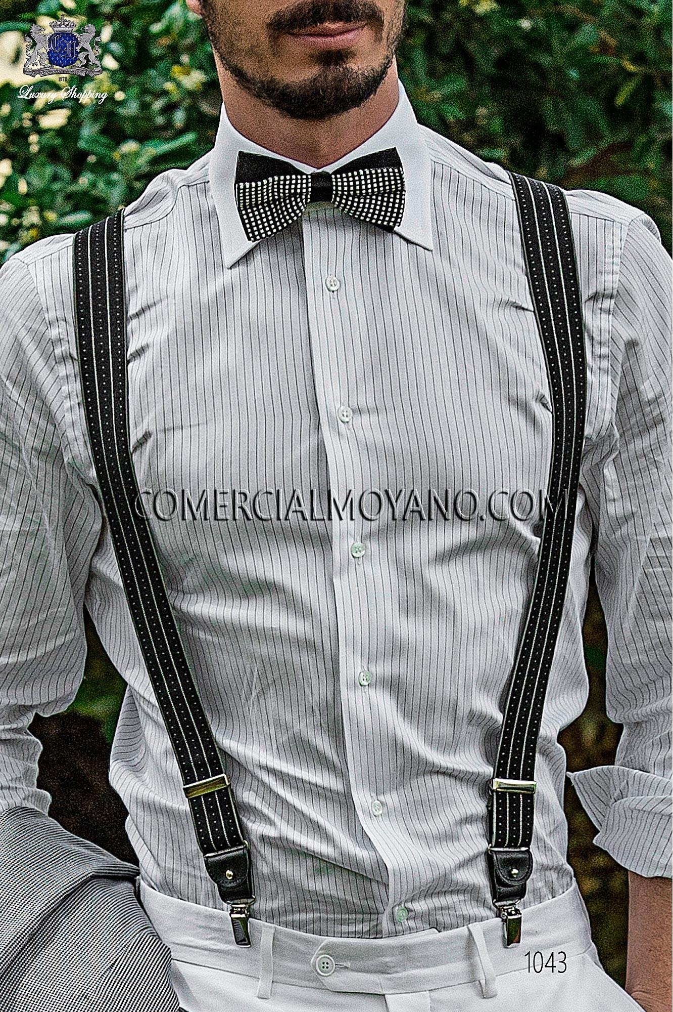 Traje Hipster de novio pata de gallo negra modelo: 1043 Ottavio Nuccio Gala colección Hipster