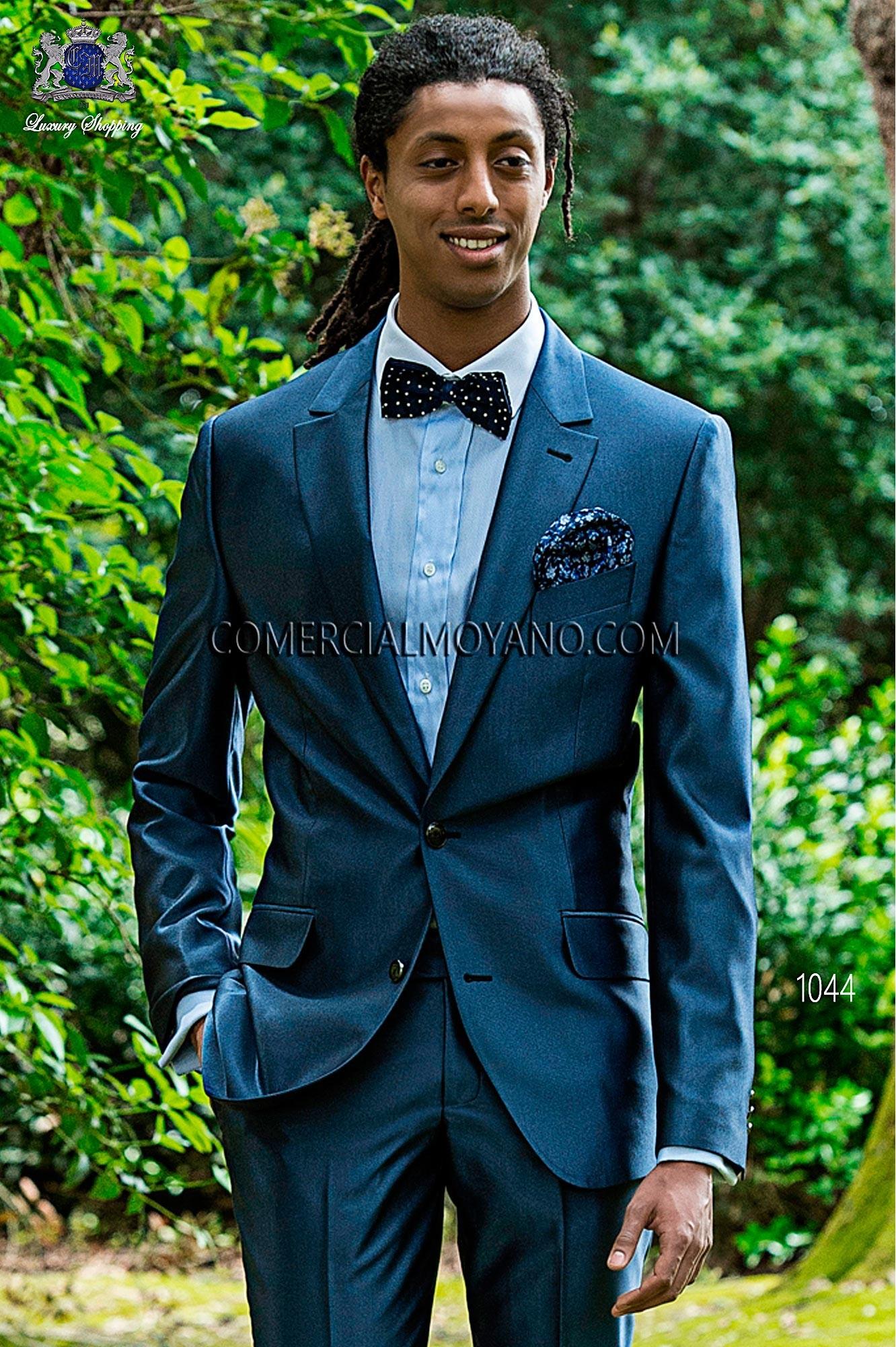 Traje Hipster de novio azul modelo: 1044 Ottavio Nuccio Gala colección Hipster