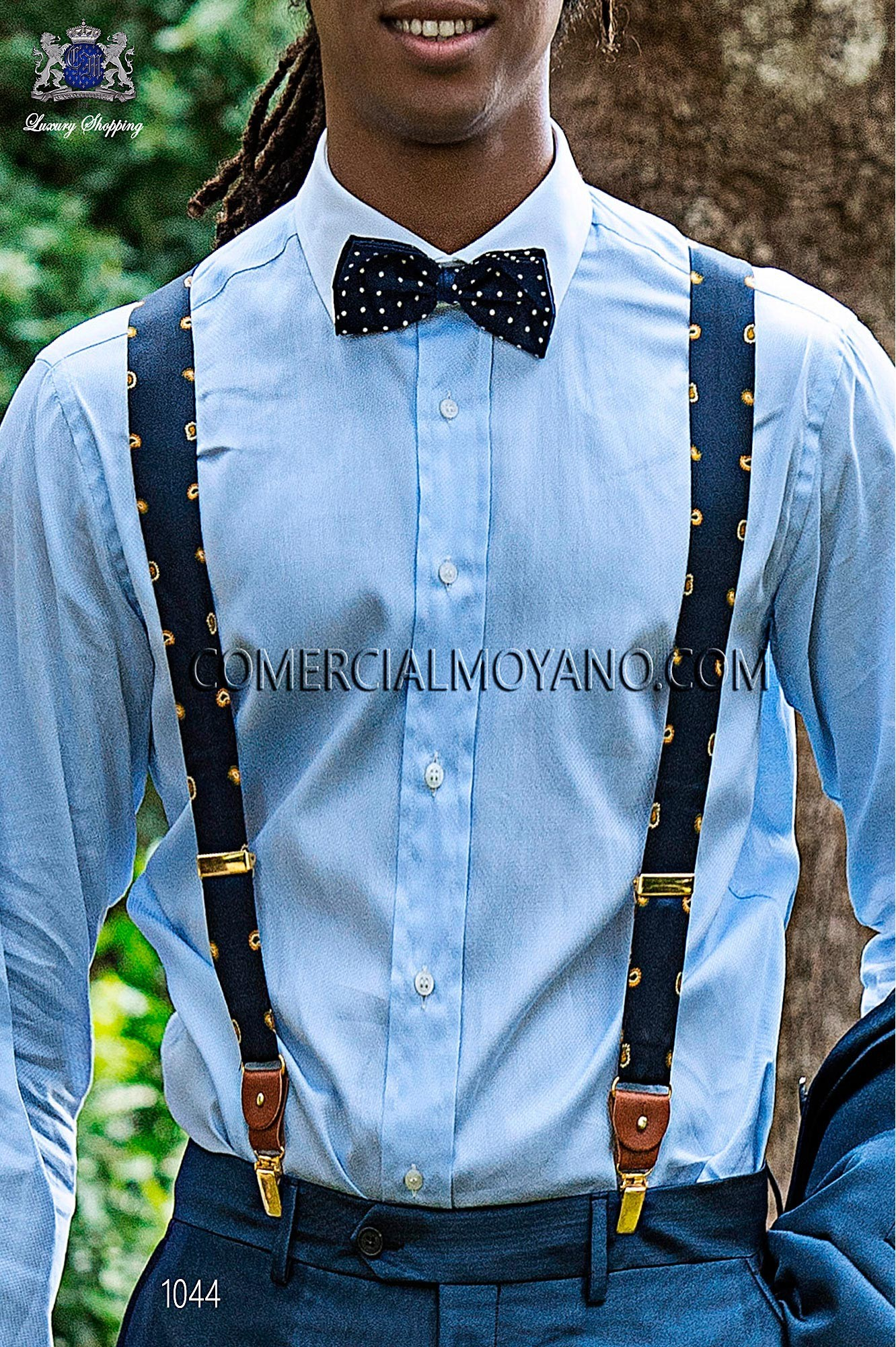 Italian hipster blue men wedding suit, model: 1044 Ottavio Nuccio Gala Hipster Collection