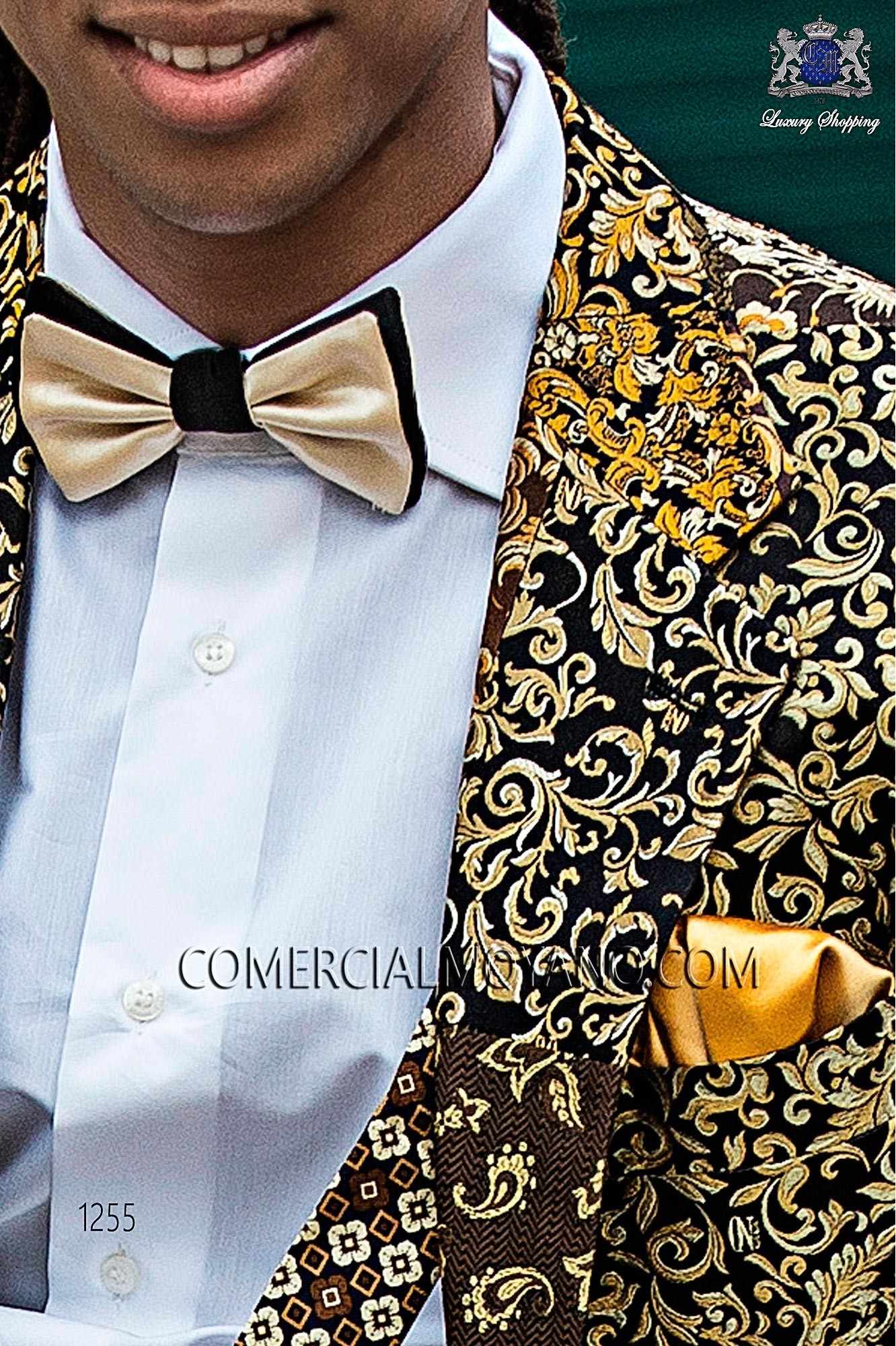 Italian hipster patchwork men wedding suit, model: 1255 Ottavio Nuccio Gala 2017 Hipster Collection