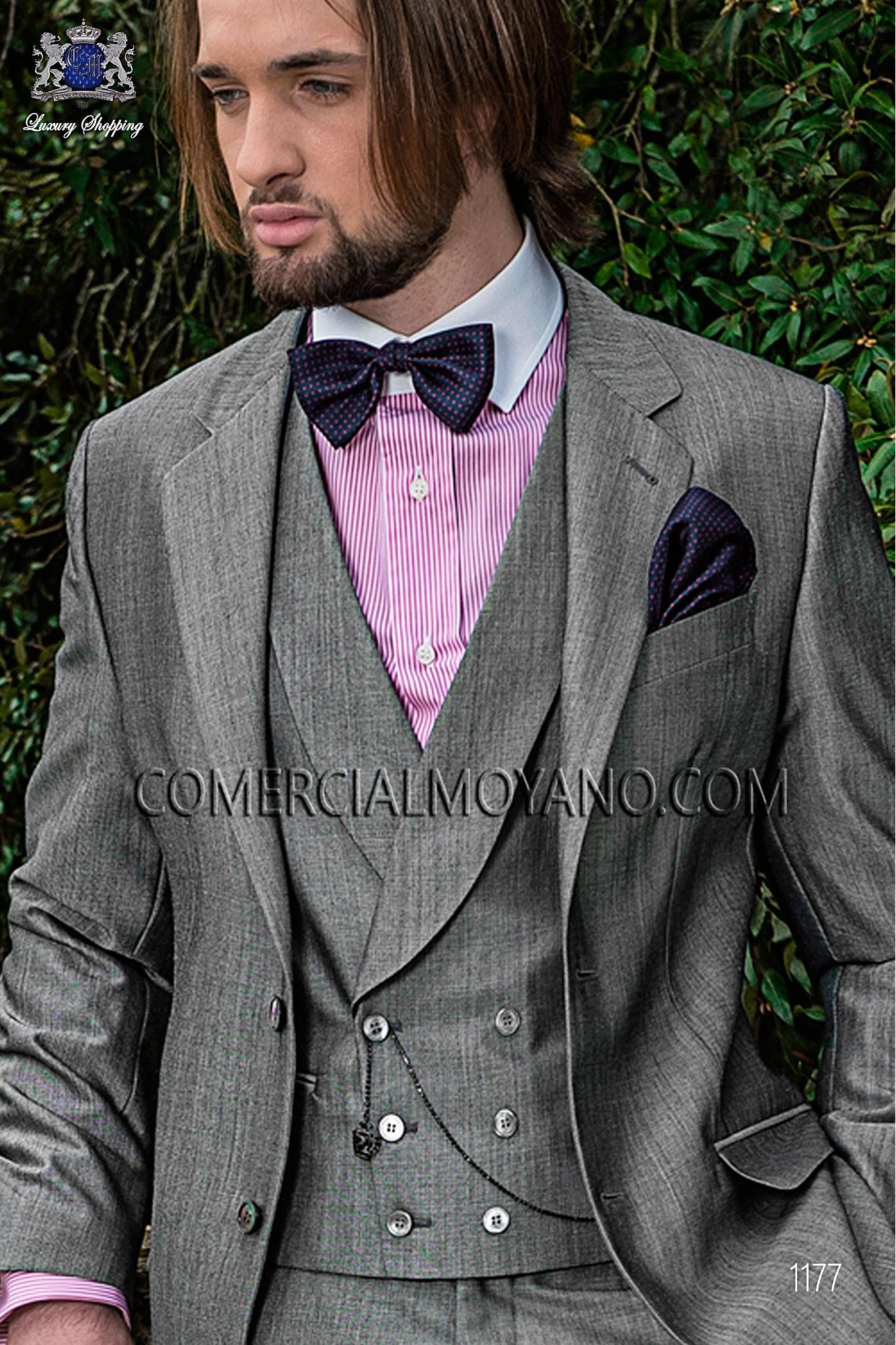 Traje Gentleman de novio gris modelo: 1177 Ottavio Nuccio Gala colección Gentleman