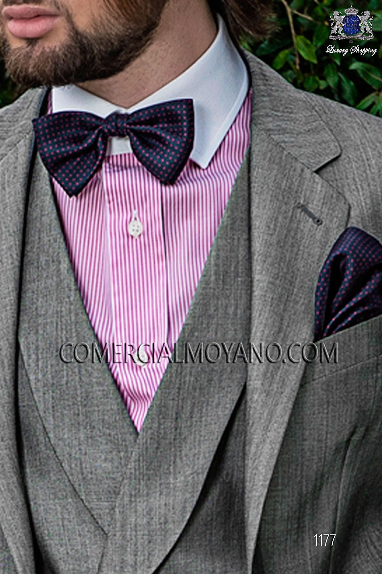 Italian gentleman gray men wedding suit, model: 1177 Ottavio Nuccio Gala Gentleman Collection