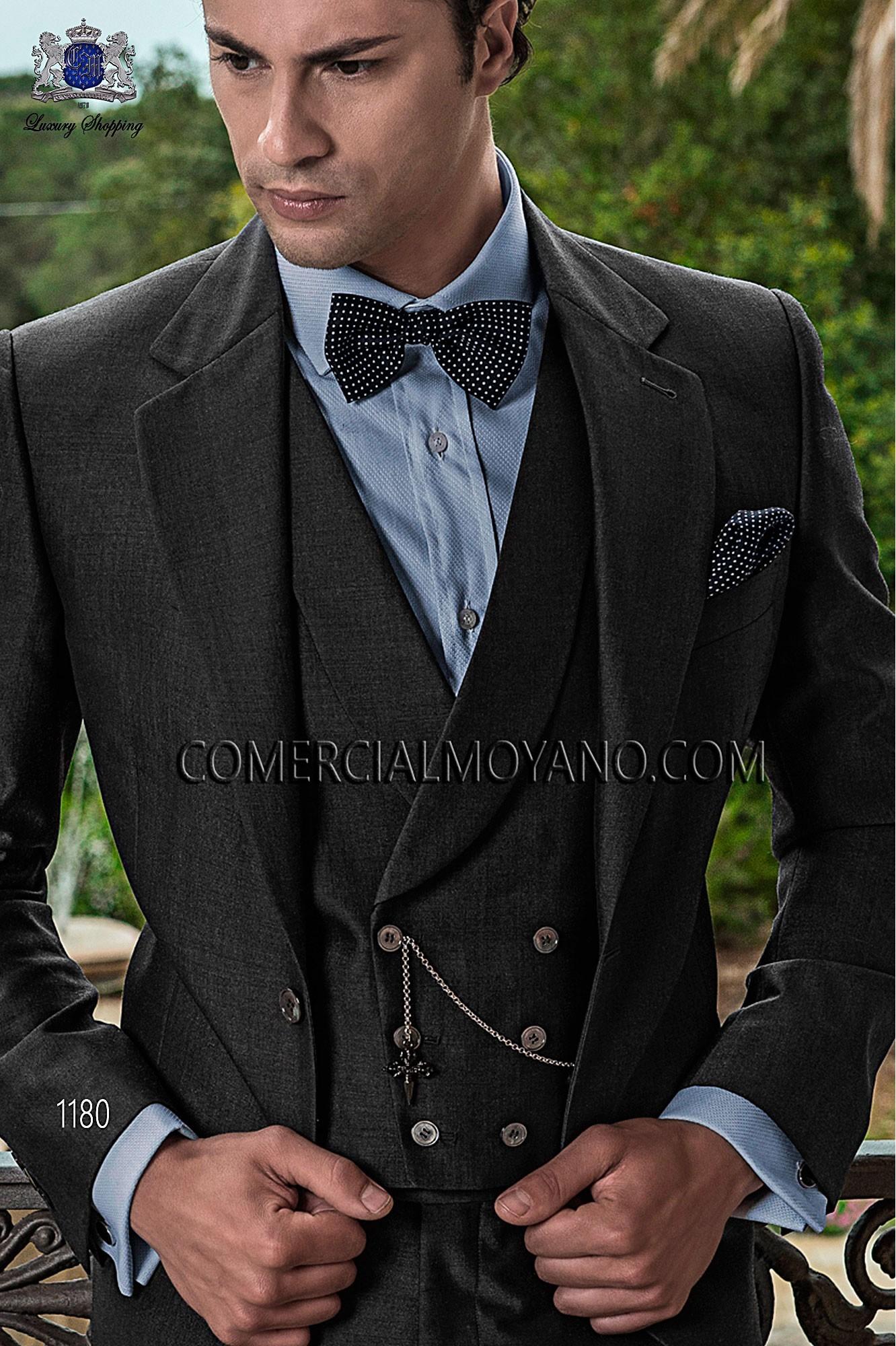 Traje Gentleman de novio gris modelo: 1180 Ottavio Nuccio Gala colección Gentleman