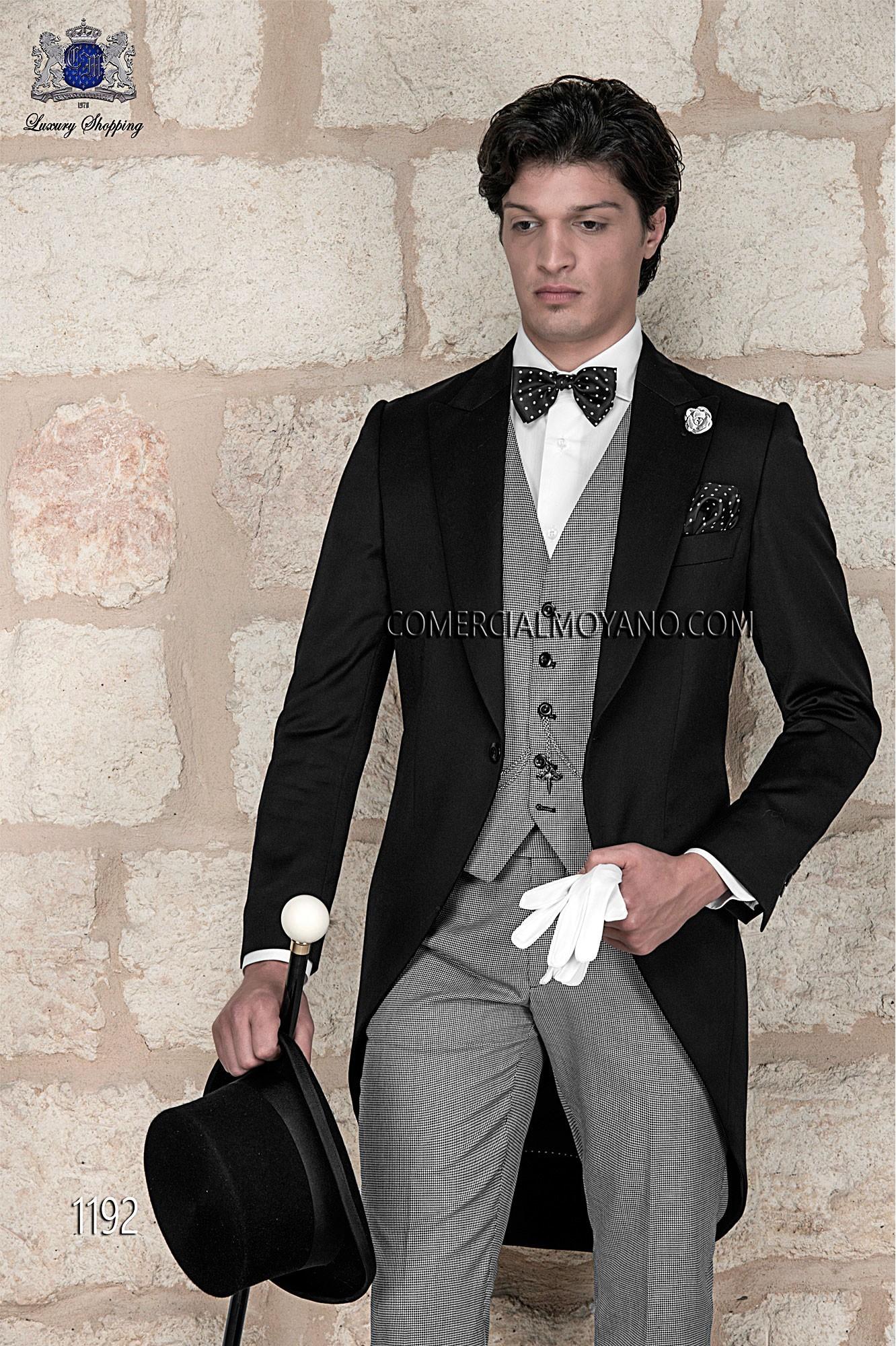 Traje de novio italiano pata de gallo modelo: 1192 Ottavio Nuccio Gala colección Gentleman