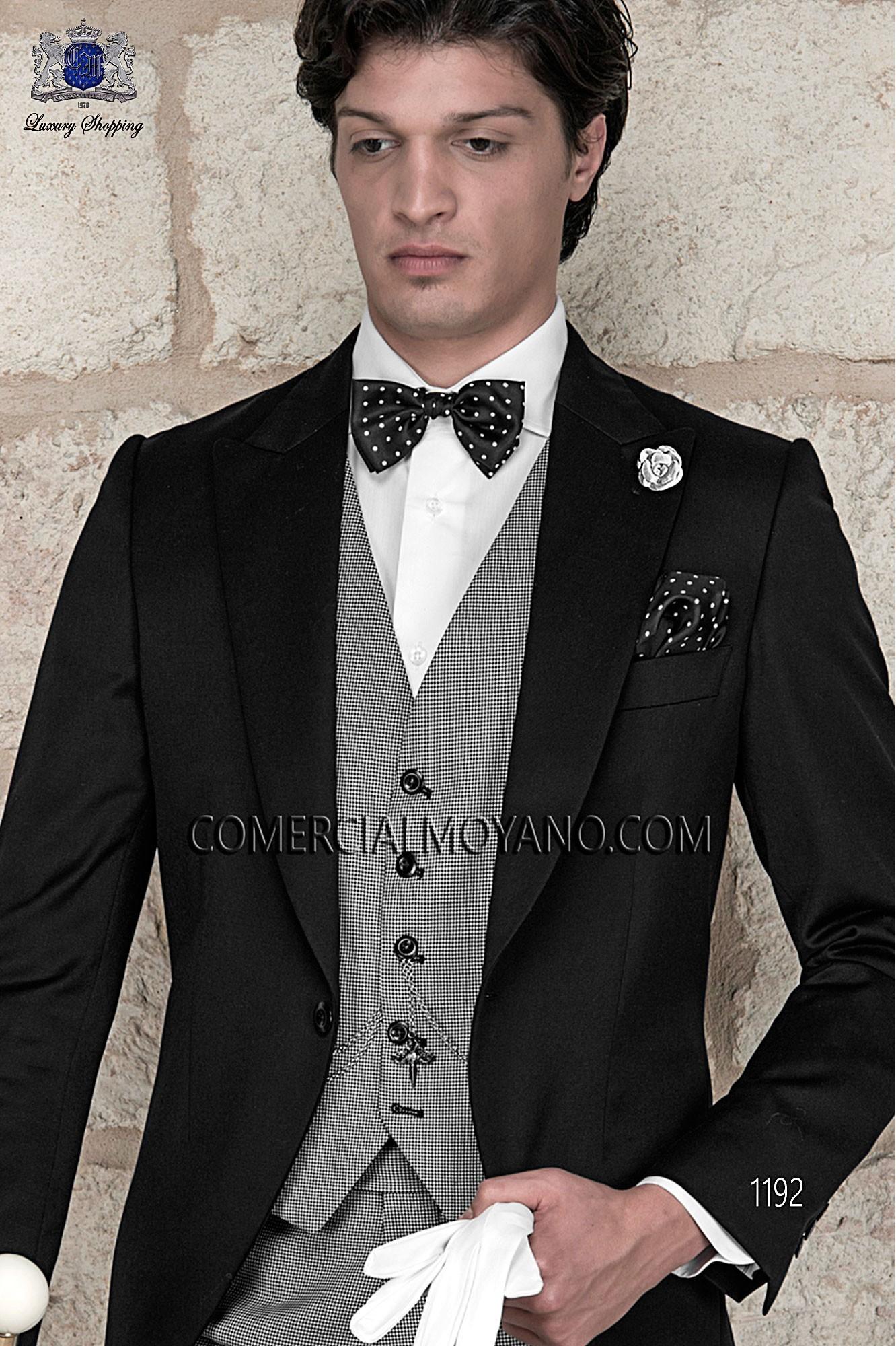 Traje Gentleman de novio pata de gallo modelo: 1192 Ottavio Nuccio Gala colección Gentleman