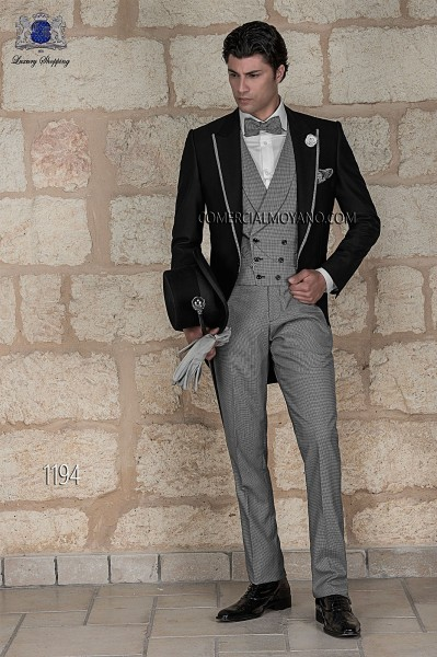 Italian gentleman black men wedding suit style 1194 Ottavio Nuccio Gala