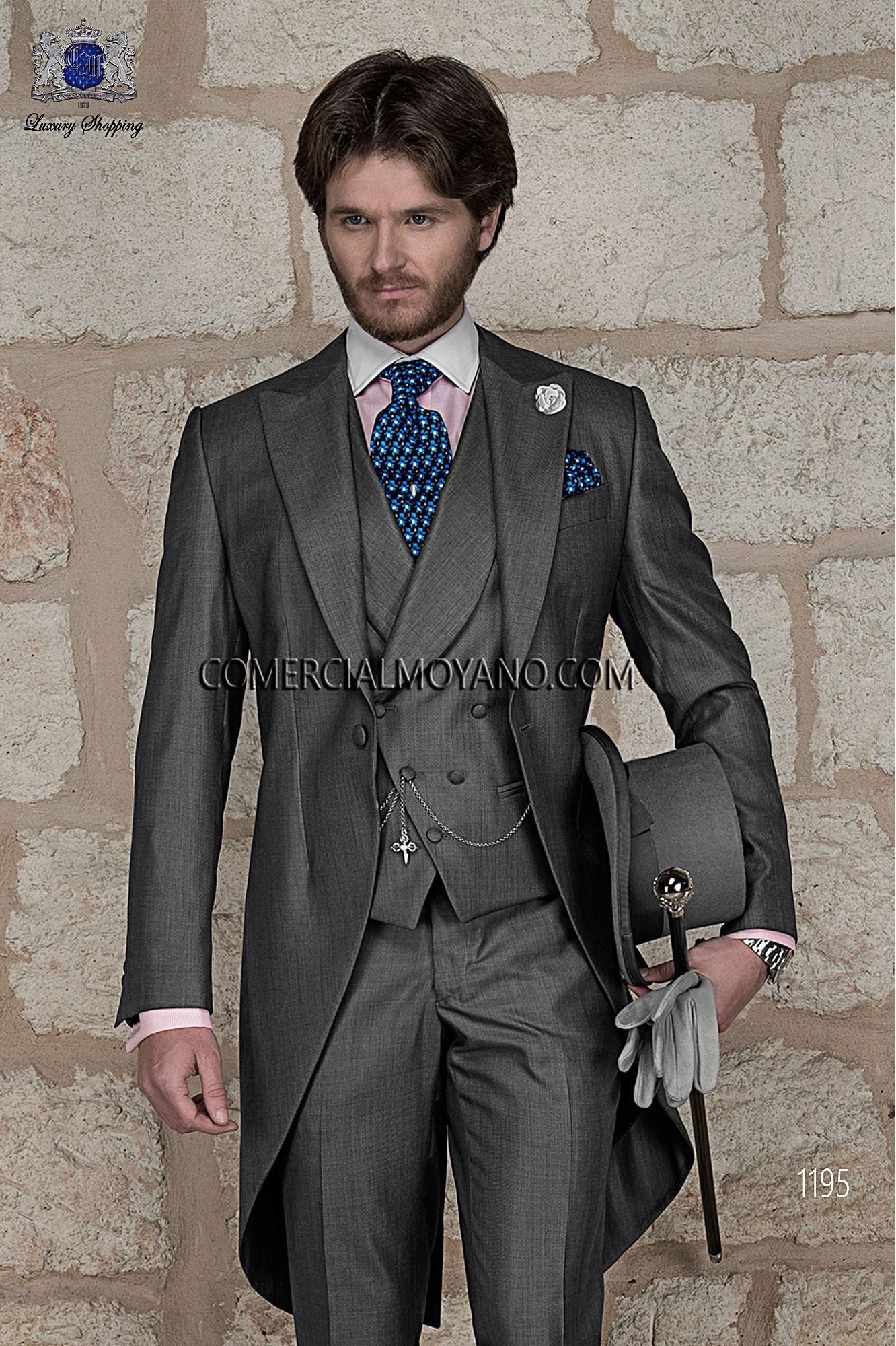 Traje Gentleman de novio gris modelo: 1195 Ottavio Nuccio Gala colección Gentleman 2017