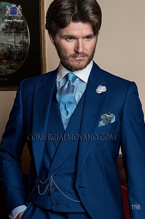 Traje Gentleman de novio azul modelo: 1198 Ottavio Nuccio Gala colección Gentleman