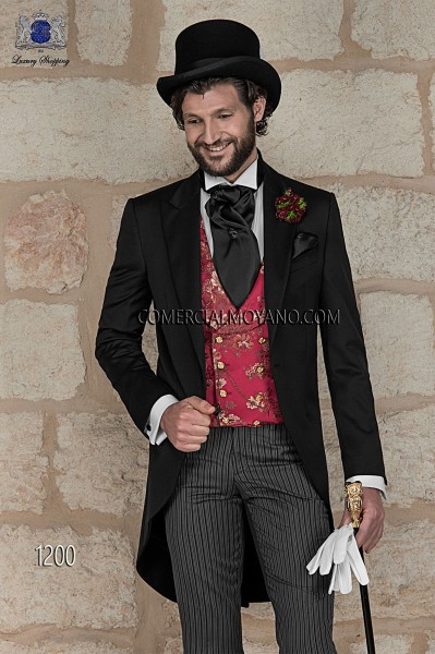 Italian gentleman black men wedding suit style 1200 Ottavio Nuccio Gala