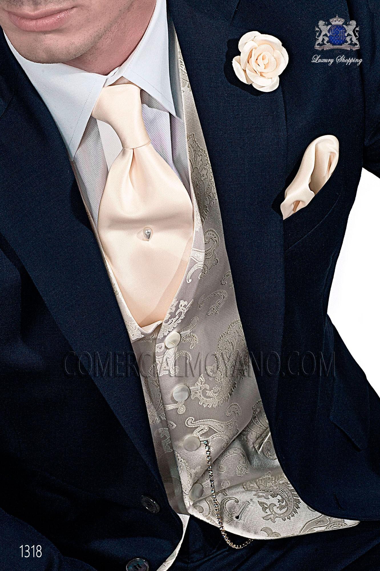 Traje Gentleman de novio azul modelo: 1318 Ottavio Nuccio Gala colección Gentleman