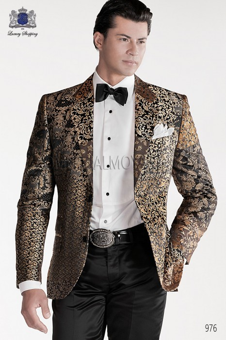 Italian patchwork fashion jacket 976 Ottavio Nuccio Gala