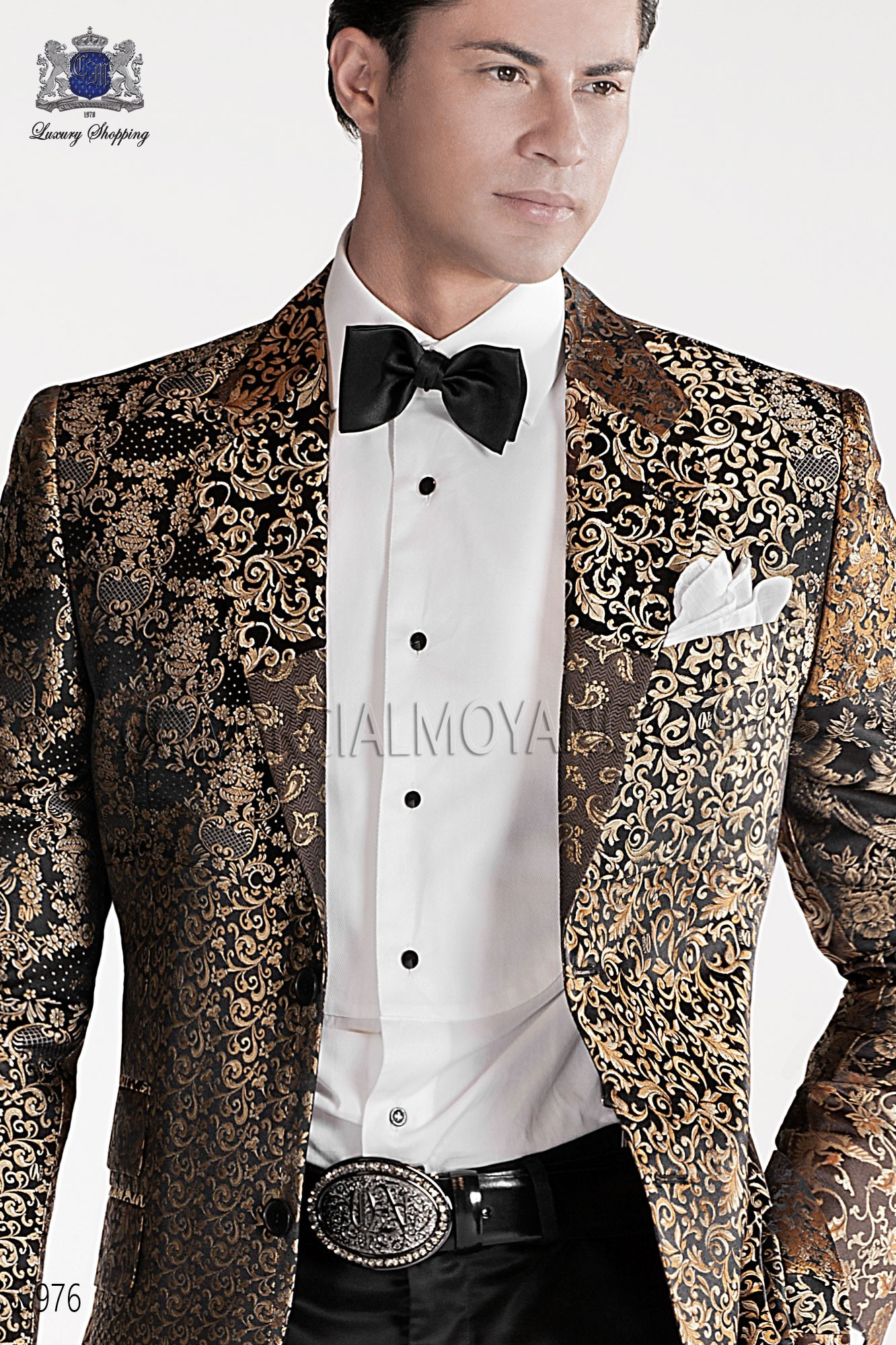 Italian emotion patchwork men wedding suit, model: 976 Ottavio Nuccio Gala Emotion Collection