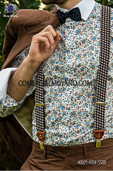 Liberty cotton shirt 40021-4104-5500 Ottavio Nuccio Gala.