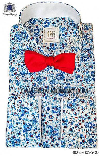 Camisa liberty azul 40056-4105-5400 Ottavio Nuccio Gala.