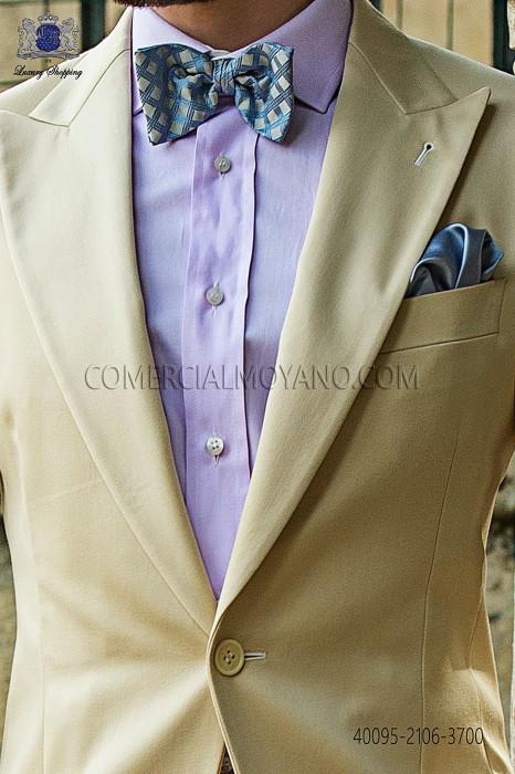 Violet cotton shirt 40095-2106-3700 Ottavio Nuccio Gala.