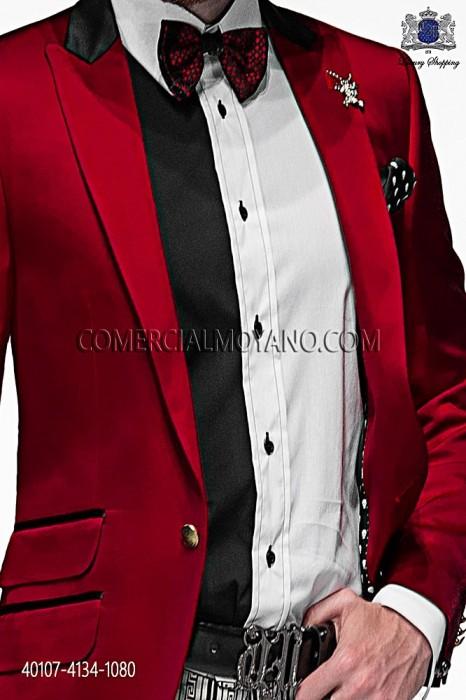 Black and white cotton shirt 40107-4134-1080 Ottavio Nuccio Gala.
