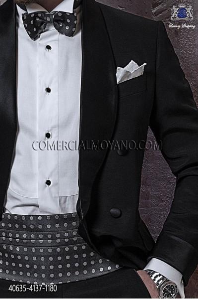 White pique shirt wing collar 40635-4137-1180 Ottavio Nuccio Gala.