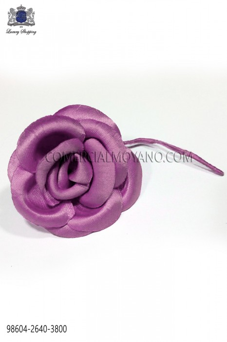 Pink satin flower 98604-2640-3800 Ottavio Nuccio Gala.