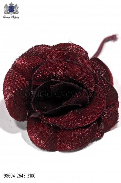 Flor lurex rojo 98604-2645-3100 Ottavio Nuccio Gala.