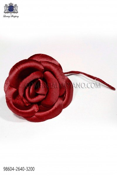Flor raso rojo 98604-2640-3200 Ottavio Nuccio Gala.