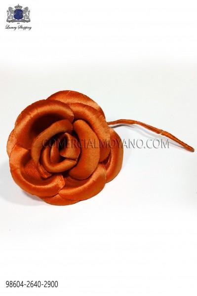 Flor raso naranja 98604-2640-2900 Ottavio Nuccio Gala.