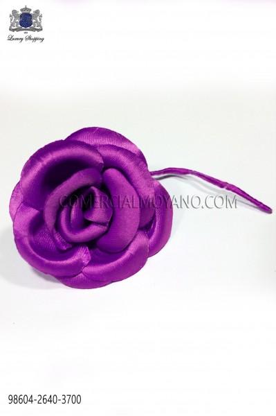 Fuchsia satin flower 98604-2640-3700 Ottavio Nuccio Gala.